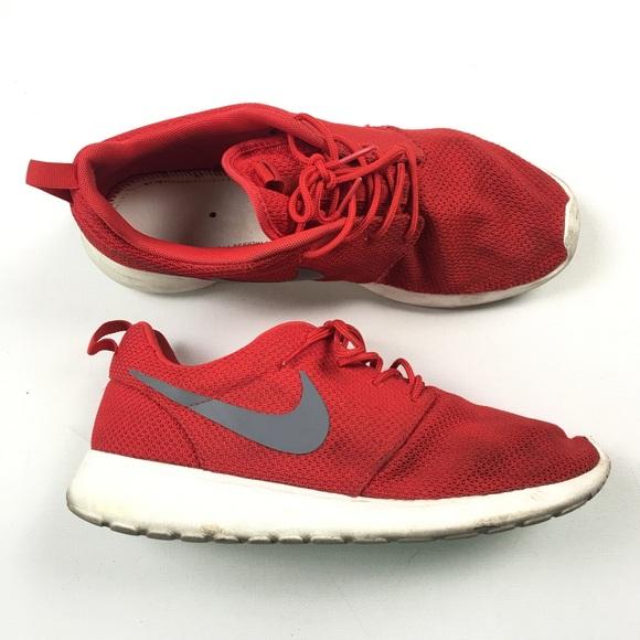 Nike Mens Roshe Run Red 511811-601 10 A85